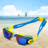 Waterproof & anti-fog swim glasses YJ04