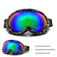 electroplate antifog skiing goggle