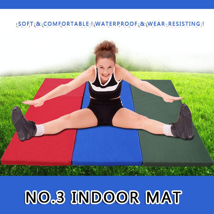 3 Foldable sponge gymnastics mat